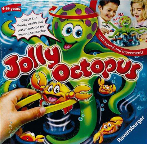 jolly octopus action game made by ravensburger games jolly-octopus