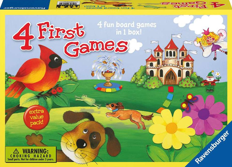 4 first games board game find the monkeys treasure and save the monkeys 4-first-games