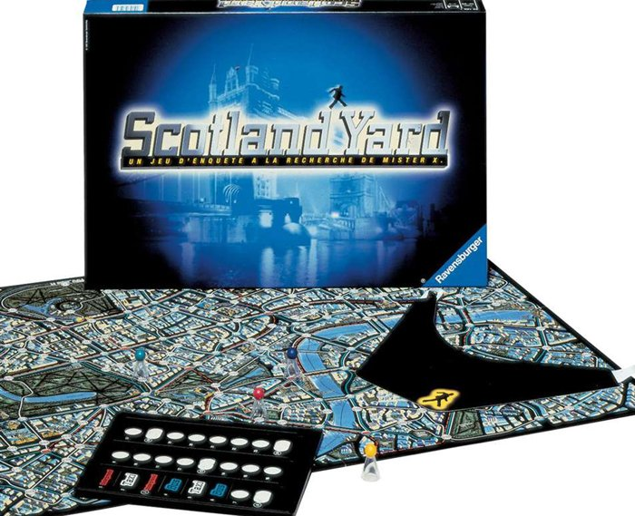 scotland yard! Strategic Board Game Made by Ravensburger Games # 261178 scotland-yard-game