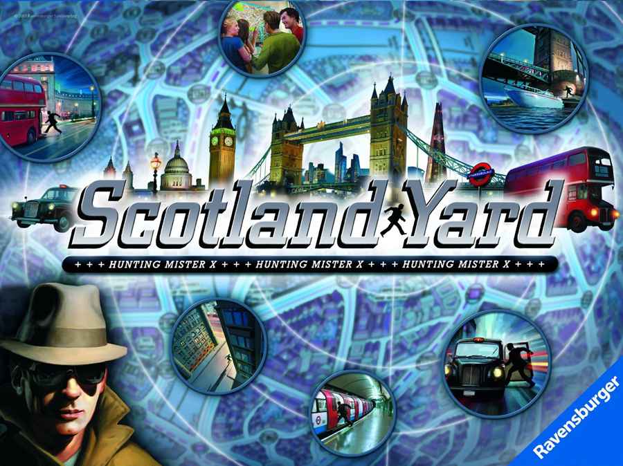 scotland yard! Strategic Board Game Made by Ravensburger Games # 261178 scotland-yard-game-2013