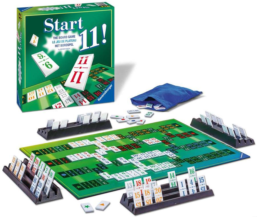 Start 11, Family Board Game - Strategy Game Made by Ravensburger # 265725 start11-ravensburger
