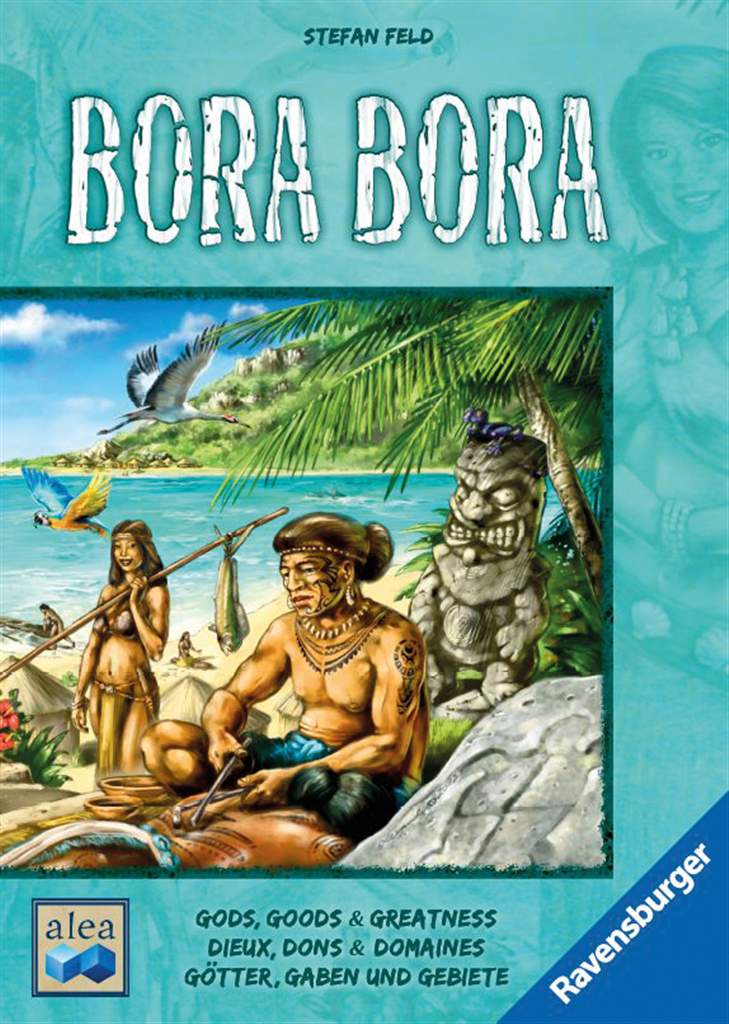 bora bora! gods goods greatness Strategic Board Game Made by Ravensburger Games Alea bora-bora-game