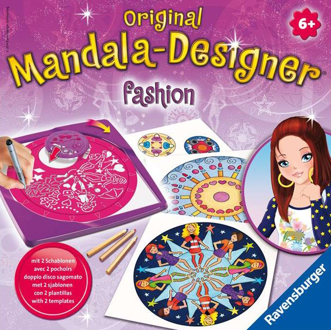 Original Mandala-Designer Fashion. The Amazingly Creative Drawing Machine, Made by Ravensburger  mandala-designer-fashion