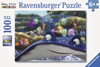 100 pieces jigsaw puzzle by ravemsburger, finding nemo disney pixar