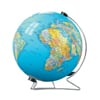 earth-puzzleball-display-stand,3d earth jigsaw puzzle ball of the planet earth 9 inch spherical globe showpiece collectable ball