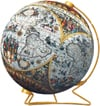 ancient-world-map-3d,3d jigsaw puzzle ball of the ancient world globe planet earth 9 inch spherical globe showpiece colle