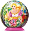 enchanting-priness-puzzleball,enchanted princess jigsaw puzzleball of the spherical 6 inch globe showpiece collection