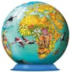 3d skylines jigsaw puzzleball of the planet earth 9 inch spherical globe showpiece collectable ball