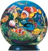 ocean-world-of-colours-puzzleball-ravensburger,ocean world of colours jigsaw puzzleball of the planet earth 9 inch spherical globe showpiece collec