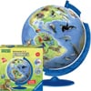 3d childrens earth extra large jigsaw puzzleball of the planet earth showing the endangered species