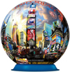 times square, new york globe jigsaw puzzleball 6 inch spherical globe showpiece collectable