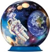 outer space globe jigsaw puzzleball of space 6 inch spherical globe showpiece collectable ball