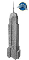 empire state building 3d jigsaw puzzle by ravensburger, 216 pieces, ages 10-99 Puzzle