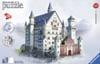 neuschwanstein-castle-3d-ravensburger,3d jigsaw puzzles of castles, neuschwanstein castle, jigsaw puzzles by ravensburger puzz3d