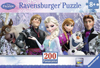 200 pieces jigsaw puzzle by ravemsburger, frozen friends elsa anna olaf