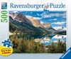 beautiful mountain side vista 500 piece jigsaw puzzle by ravensburger large piece format Puzzle