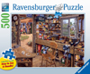 Ravensburgher Jigsaw Puzzle 500 Pieces Michael Herrings' Dad's Shed