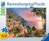 ravensburger jigsaw puzzle 500 pieces, italy positano