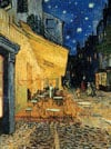 Café Terrace at Night Vincent Van Gogh painting jigsaw puzzle museum collection 1000pieces ravensbur