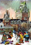 PaulinePaquin QuebecArtist winter masterpiece Ravenbsurger JigsawPuzzles thousand pieces jigsaws puz