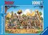 asterix-family-portrait,Asterix Family Portrait Cartoon Illustration 1000 Pieces Jigsaw Puzzle by Ravensburger Puzzles # 154