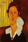 annazborovska,Painter Amedeo Modigliani's Anna Zborovska Jigsaw Puzzle 1000 Pieces by Ravensburger # 157471