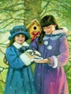 Artist Chantal Poulin's Little Bird Painting Ravensburger 1000 Piece Jigsaw Puzzle Canadian Artists