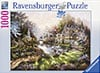Painter of Light Klaus Strubel Morning Glory Cottage 1000 Piece Jigsaw Puzzle by Ravensburger Games Puzzle