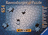 Chryptic puzzle all silver Krypt series no image blank Ravenbsurger JigsawPuzzles thousand pieces ji