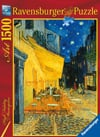 Caf� Terrace at Night Vincent Van Gogh painting jigsaw puzzle museum collection 1500 pieces ravensbu