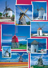 windmill photographs mosaic puzzle ravensburger 1500 pices perfecrt gift idea Puzzle