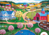 Artist Steve Klein painting of Farm Country by Ravenbsurger JigsawPuzzles thousand pieces jigsaws Puzzle