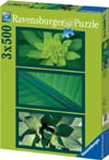 Natural Impressions In Green by Herzing Fotografe German Made jigsaw puzzle by Ravensburger# 162833 Puzzle