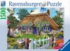 Howard Robinsons' Cottage in England 1500 Piece Jigsaw Puzzle by Ravensburger Games