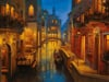 waters of venice venice scenery of venice 1500 Piece puzzle by Ravensburger 2014 premium puzzel soft Puzzle