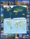 Earth Map satellite photo map 1500Piece JigsawPuzzle by RavensbergerPuzzles # 163755 Puzzle