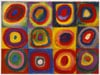 color-study-circles-squares-kandinsky,Color Study of Squares and Circles by Kandinsky 1913 Famous Painting by Ravensburger Jigsaw Puzzles