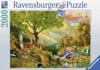 Idyllic Wildlife painting 2000 Piece JigsawPuzzle by Ravensberger Puzzles