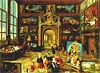 ravensburger jigsaw puzzle 2000 pieces gallery of a collector by Frans Francken II