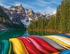 Mountain Canoes Ravensburger 2000 Piece Jigsaw planet Puzzle michael wheatley photo Puzzle