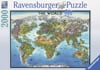 Ravensburger Puzzle # 166831 World Map JigsawPuzzle with Country Flags Puzzle