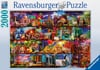 World of Books painting 2000 Piece JigsawPuzzle by Ravensberger Puzzles