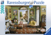 Room with a View painting 2000 Piece JigsawPuzzle by Ravensberger Puzzles