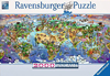 world wonders, ravensburger jigsaw puzzle, great nature scenes 2000 pieces