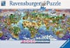 world wonders, ravensburger jigsaw puzzle, great nature scenes 2000 pieces Puzzle