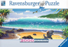 Cast Away painting 2000 Piece JigsawPuzzle by Ravensberger Puzzles Puzzle