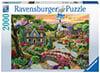 jogsaw puzzles jogsawpuzzles jigsawpuzzle enchanted valley joseph burgess painting puzzle Puzzle
