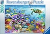 coral reef majesty dolphin puzzle 2000 pieces by Ravensburgerjigsawpuzzles Puzzle