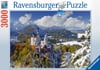 Neushwanstein Castle in Winter 3000Piece JigsawPuzzle by Ravensburger Germany