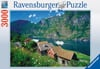 Sognefjord, Norway 3000 piece jigsaw puzzle by Ravensburger gorgeous scenery photography Puzzle